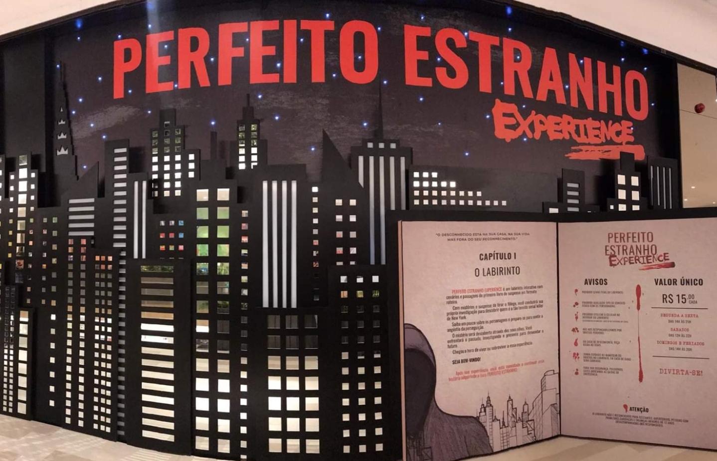 PERFEITO ESTRANHO EXPERIENCE